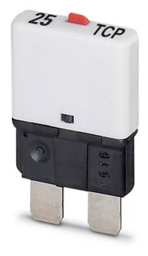 Phoenix Contact 25 TCP / DC32V Beveiligingsschakelaar Thermisch 32 V/DC 25 A 50 stuks