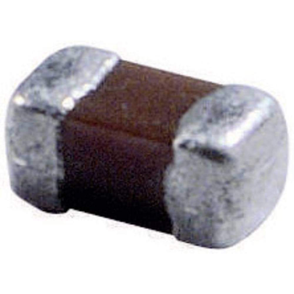 Keramische condensator SMD 0603 220 pF 50 V 5 % 1 stuk(s) Tape cut