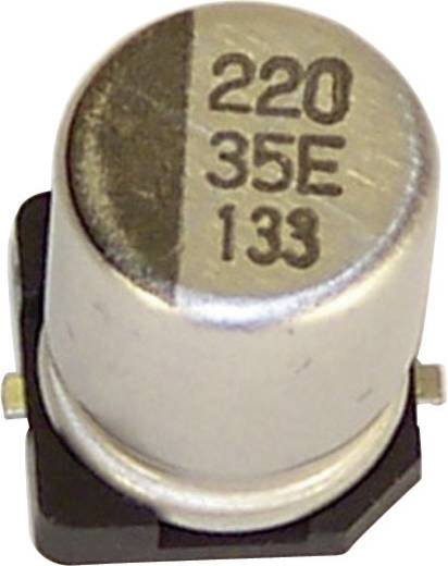 Elektrolytische condensator SMD 220 µF 35 V 20 % (Ø x h) 10 mm x 10.2 mm Teapo VEV227M035S0ANB01K 1 stuks