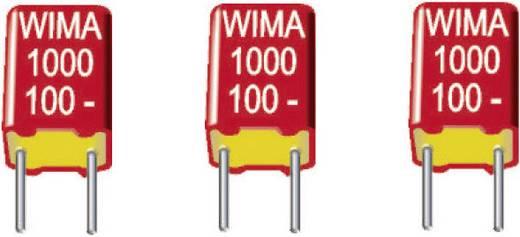 Wima FKS 2 0.022µF 100V 5 FKS-foliecondensator Radiaal bedraad 0.022 µF 100 V/DC 20 % 5 mm (l x b x h) 7.2 x 4.5 x 8.5