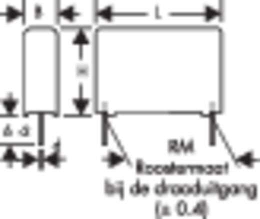 Wima MKP 4 0.015µF 1000V 10 MKP-foliecondensator Radiaal bedraad 0.015 µF 1000 V/DC 10 % 10 mm (l x b x h) 13 x 5 x 11