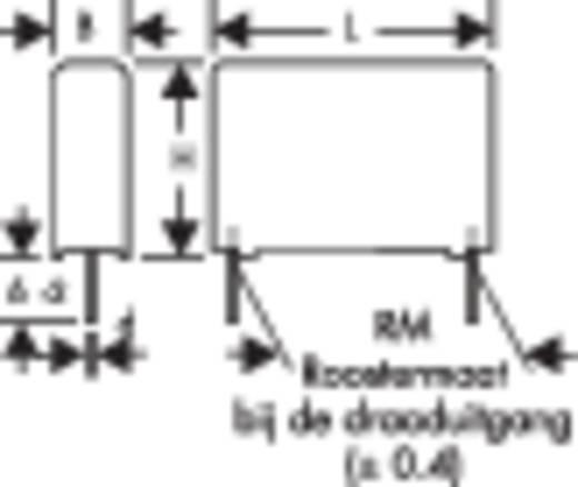 Wima MKP 4 0.047µF 1000V 15 MKP-foliecondensator Radiaal bedraad 0.047 µF 1000 V/DC 10 % 15 mm (l x b x h) 18 x 7 x 14 mm 1 stuks