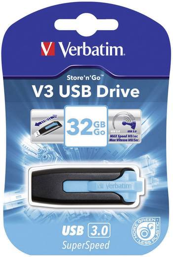 Verbatim V3 32 GB USB-stick Blauw USB 3.0