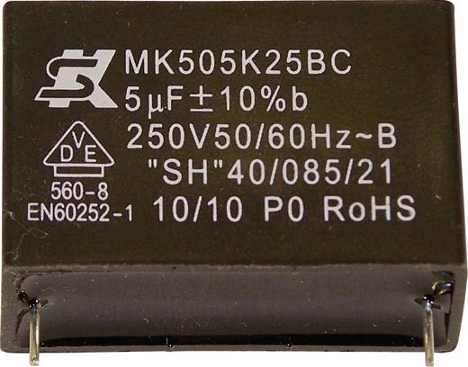 Seika MK450K154 MKP-foliecondensator Radiaal bedraad 0.15 µF 450 V 10 % 22.5 mm (Ø x h) 16.5 mm x 7 mm 1 stuks