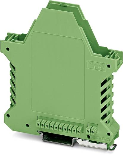 Phoenix Contact ME 17,5 UT/FE BUS/10+2 GN DIN-rail-behuizing onderkant Polyamide 10 stuks