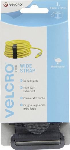 VELCRO® brand VEL-EC60329 Klittenband met riem Haak- en lusdeel (l x b) 920 mm x 50 mm Zwart 1 stuks