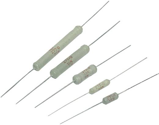 VitrOhm CR254-05T 0R39 Vermogensweerstand 0.39 Ω Axiaal bedraad 2.5 W 1 stuks