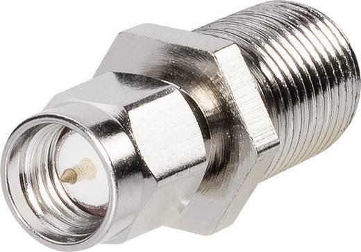 BKL Electronic 0409095 F-bus - SMA-adapter SMA-stekker 1 stuks