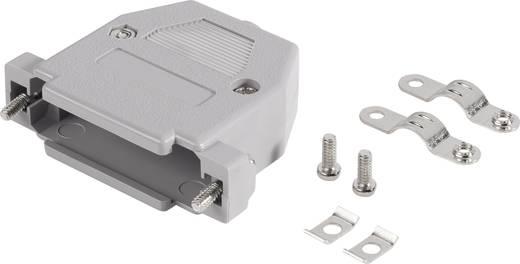 BKL Electronic 10120061 D-SUB behuizing Aantal polen: 15 Kunststof 180 ° Grijs 1 stuks