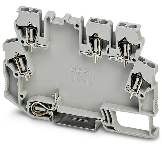 Phoenix Contact STTCO-LG 2,5/5 ZB-PE GY DIN-rail-behuizing Kunststof 50 stuks