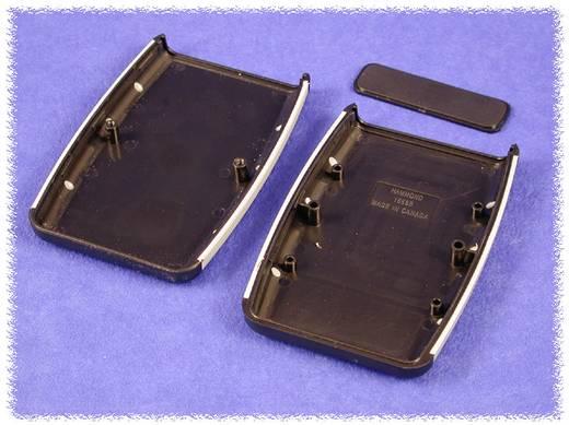 Hammond Electronics 1553DPLBK-10 Eindplaat ABS Zwart 10 stuks