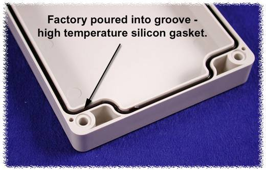 Hammond Electronics 1554VGASKET Afdichting Silicone Zwart 2 stuks