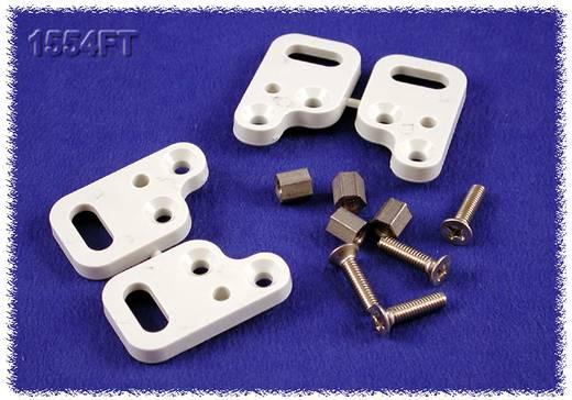 Hammond Electronics 1554FT Behuizingvoet Grijs 4 stuks