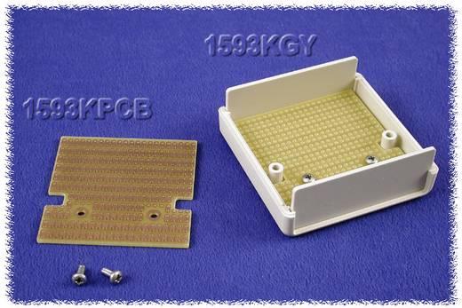 Hammond Electronics 1593QPCB Printplaat Epoxide (l x b) 68 mm x 59 mm Inhoud 1 stuks