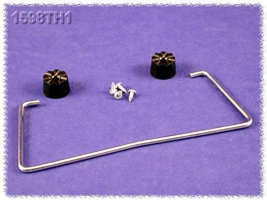Hammond Electronics 1598TH1 Standbeugel Staal Zilver 1 stuks