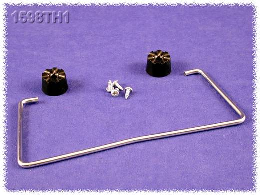 Hammond Electronics 1598TH2 Standbeugel Staal Zilver 1 stuks