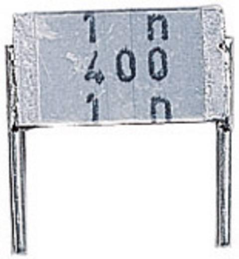 Epcos METALLISIERTER POLYESTER-KOND., 0,1UF MKT-foliecondensator Radiaal bedraad 100 nF 250 V/AC 10 % 7.5 mm (l x b x h) 9 x 3.2 x 6.1 mm 1 stuks