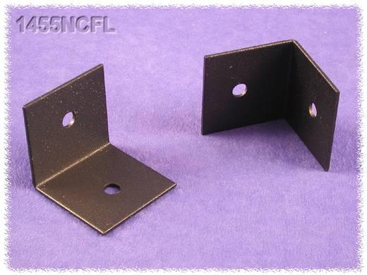 Hammond Electronics 1455NCFL Bevestigingshaak Staal Zwart 2 stuks