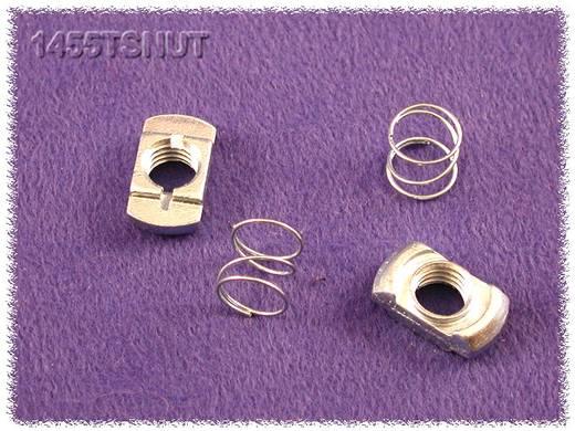 Hammond Electronics 1455TSNUT Bevestigingsmoer Met veer Staal Zilver 2 stuks