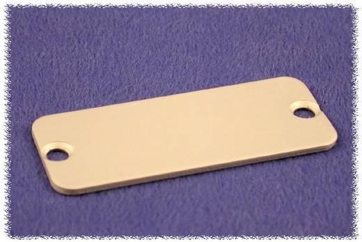 Hammond Electronics 1455DAL-10 Eindplaat (l x b x h) 1.5 x 45 x 25 mm Aluminium Naturel 10 stuks