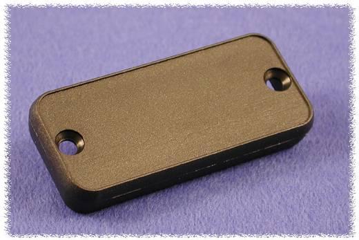 Hammond Electronics 1455QPLBK Eindplaat (l x b x h) 8 x 120.5 x 51.5 mm ABS Zwart 2 stuks