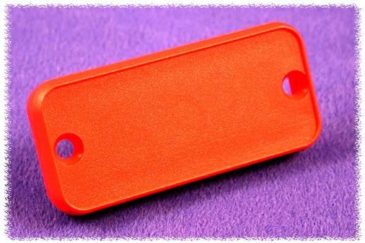 Hammond Electronics 1455NPLRED-10 Eindplaat (l x b x h) 8 x 103 x 53 mm ABS Rood 10 stuks