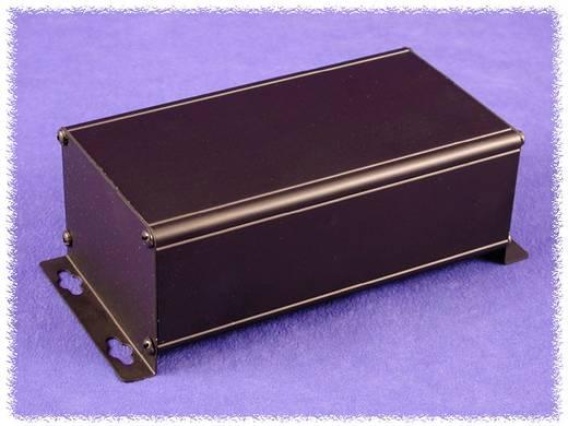 Wandbehuizing 248 x 88.9 x 56 Aluminium Zwart Hammond Electronics 1455ZT2201BK 1 stuks