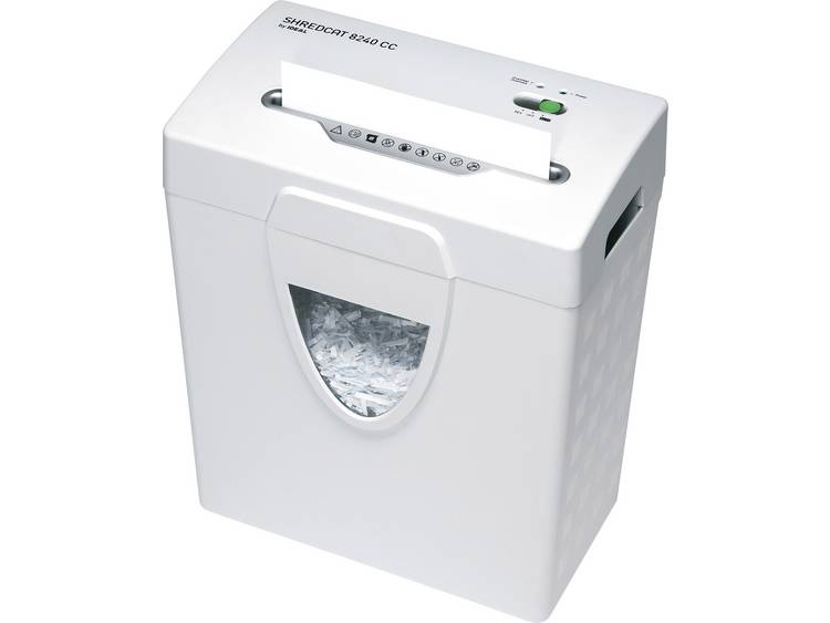 Papierversnipperaar Ideal SHREDCAT 8240 CC Cross cut 4 x 40 mm 18 l Aantal bladen (max.): 8 Veiligheidsniveau 4
