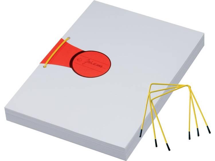 Jalema 602223 Geel, Zwart 1 stuks Vulhoogte met papier (max.):90