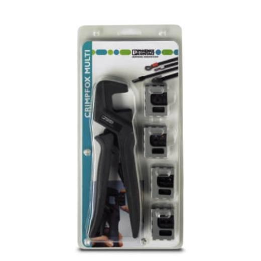 Phoenix Contact CRIMPFOX-M SET Perstangset 5-delig Geïsoleerde kabelschoenen, Ongeïsoleerde buiskabelschoenen, Adereindh