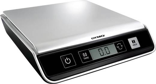 DYMO Brievenweegschaal Weegbereik (max.) 10 kg Resolutie 2 g Zilver