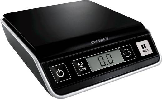 DYMO Brievenweegschaal Weegbereik (max.) 2 kg Resolutie 1 g Zwart