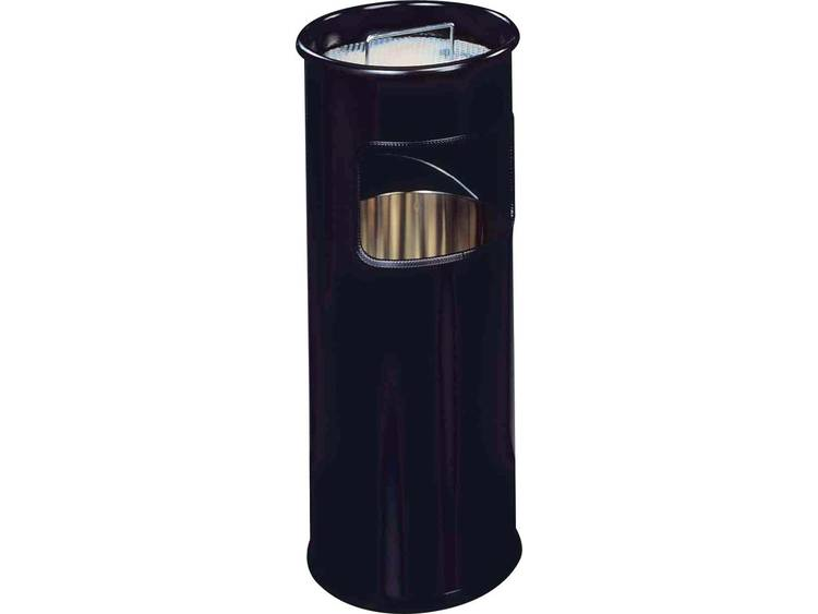 Durable Papierbak met asbak 17l zwart (3330-01)