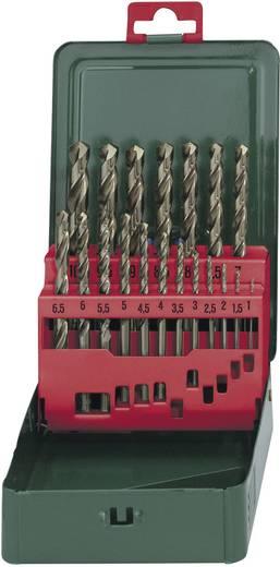 Metabo 627157000 HSS Metaal-spiraalboorset 19-delig kobalt DIN 338 Cilinderschacht 1 set