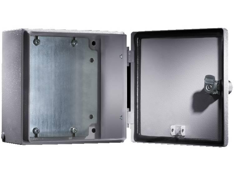 Rittal E-Box 1553.500 Installatiebehuizing 150 x 150 x 120 Plaatstaal Lichtgrijs (RAL 7035) 1 stuks
