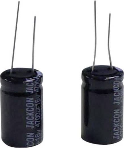 Subminiatuur elektrolyt-condensator Radiaal bedraad 7.5 mm 4700 µF 16 V/DC 20 % (Ø x h) 16.5 mm x 32 mm 1 stuks