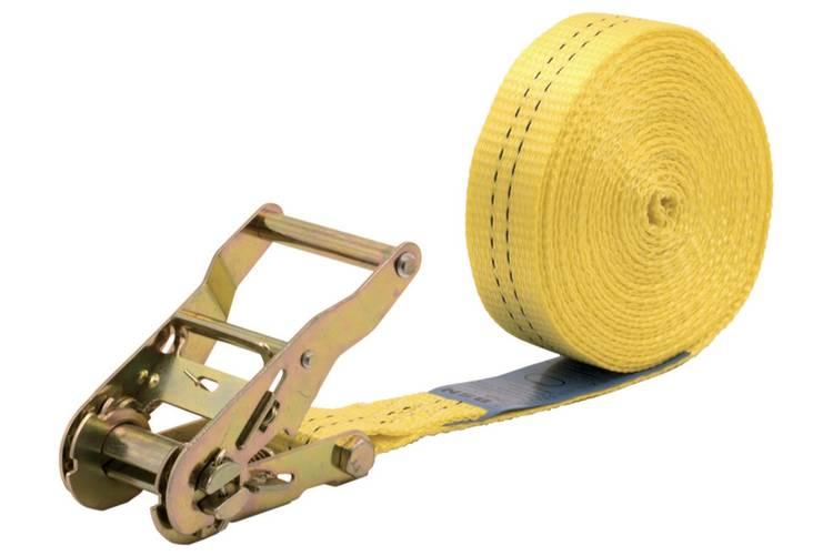 Spanband (eendelig) Trekkracht (lc) vastbinden (enkel direct)=1000 daN (l x b) 6 m x 35 mm Wolfcraft 3275000