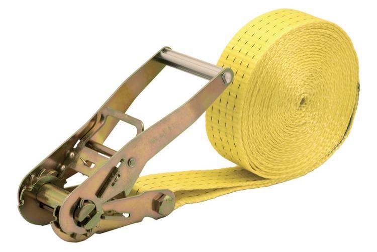 Spanband (eendelig) Trekkracht (lc) vastbinden (enkel direct)=2000 daN (l x b) 8 m x 50 mm Wolfcraft 3277000