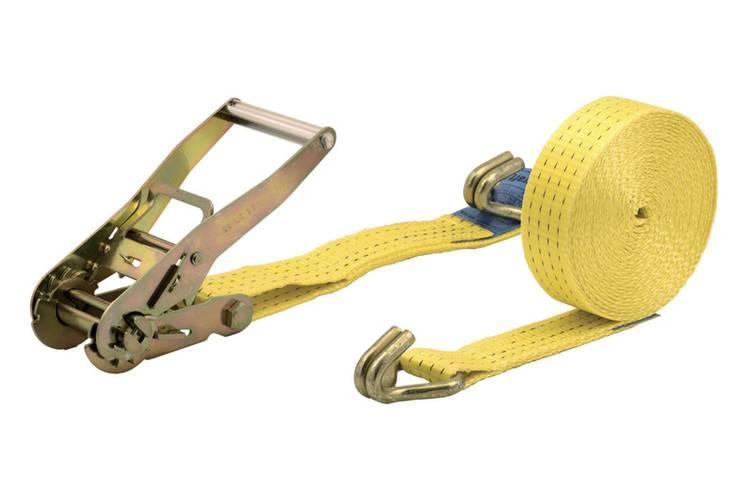 Spanband (tweedelig) Trekkracht (lc) vastbinden (enkel direct)=2000 daN (l x b) 8 m x 50 mm Wolfcraft 3278000