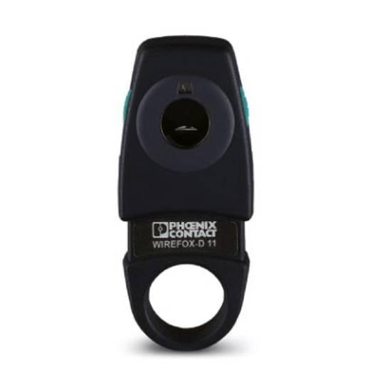 Phoenix Contact WIREFOX-D 11 1212160 Kabelstripper Geschikt voor Signaalkabel, Stuurkabel, Glasvezelkabel 2.5 tot 11 mm