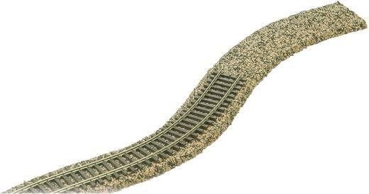 Busch 7501 H0 grind roadbeds Schaal H0 (l x b x h) 2500 x 50 x 5 mm Inhoud 1 stuks