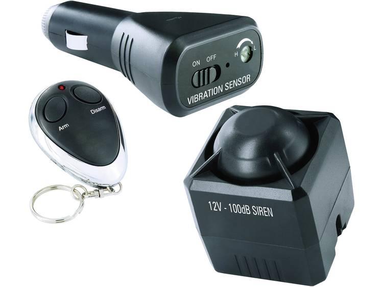 Smartwares Auto alarmsysteem Incl. afstandsbediening, Binnenbewaking, Schoksensor 12 V