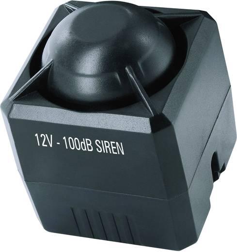 Auto-alarmsysteem Universelle Autoalarmanlage ELRO Incl. afstandsbediening, Binnenbewaking, Schoksensor 12 V