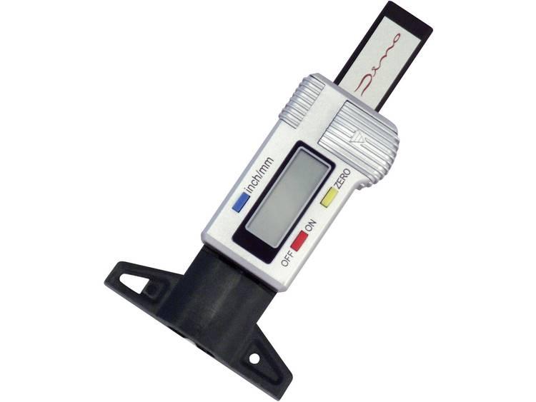 Bandenprofielmeter Digitaal Meetbereik diepte 25.4 mm (max) DINO 130005
