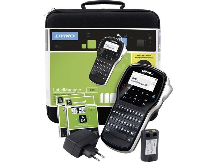 DYMO LabelManager 280 Kit Labelmaker Geschikt voor labels: D1 Strookbreedte: 6 mm, 9 mm, 12 mm