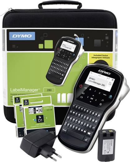 DYMO LabelManager 280 Koffer-Set Labelmaker Geschikt voor labels: D1 Strookbreedte: 6 mm, 9 mm, 12 mm