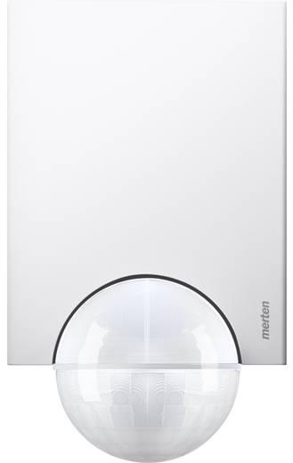 Wand, Plafond PIR-bewegingsmelder Merten 565219 220 ° Polar-wit IP55
