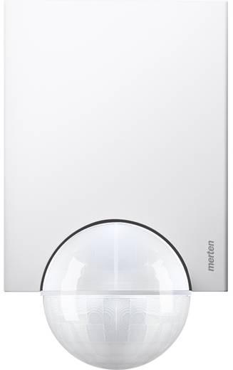 Wand, Plafond, Opbouw PIR-bewegingsmelder Merten 565619 220 ° Relais Polar-wit IP55