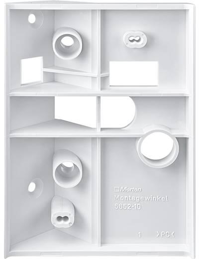 Opbouw, Wand Montagehoek voor bewegingsmelder Merten 565291 Polar-wit IP55