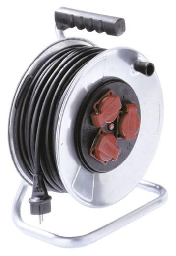 Bachmann Electric 398180 Kabelhaspel 40 m Zwart Randaarde stekker
